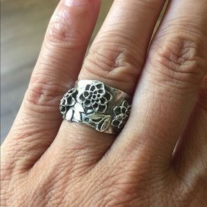 Jewelry - .925 Sterling Silver Cuff Ring